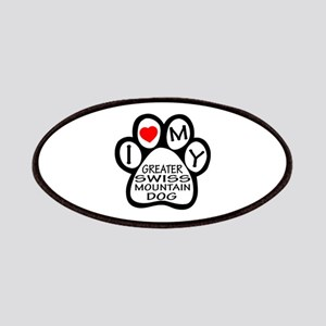 I Love My Greater Swiss Mountain Dog Patch