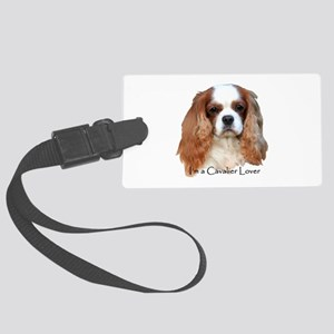 I'm A Cavalier Lover Large Luggage Tag