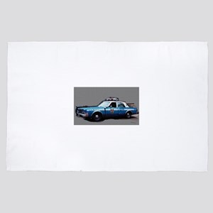 New York City Police Car 1980s 4' x 6' Rug
