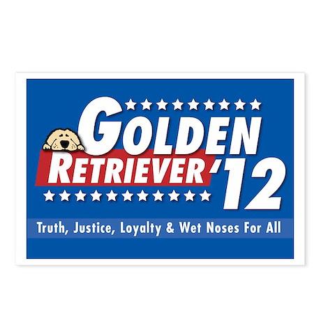 Golden for President Postcards (Package of 8)