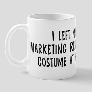 Left my Marketing Researcher Mug