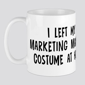 Left my Marketing Manager Mug