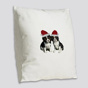 Untitled-1 Burlap Throw Pillow