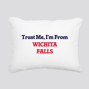 Trust Me, I'm from Wichi Rectangular Canvas Pillow