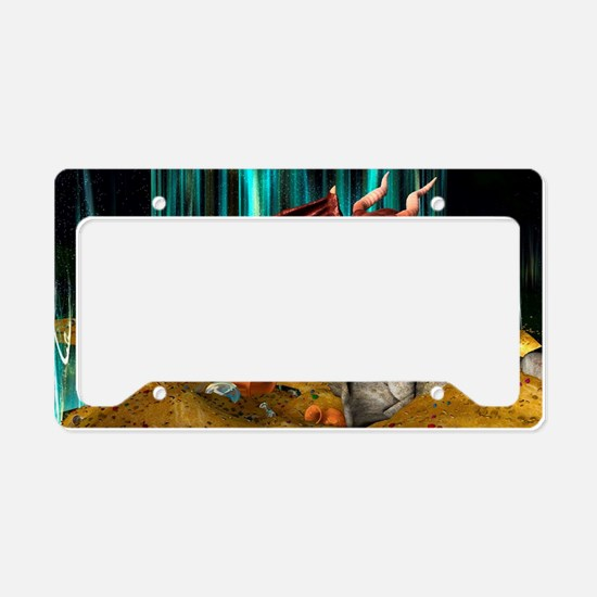 Dragon Treasure License Plate Holder
