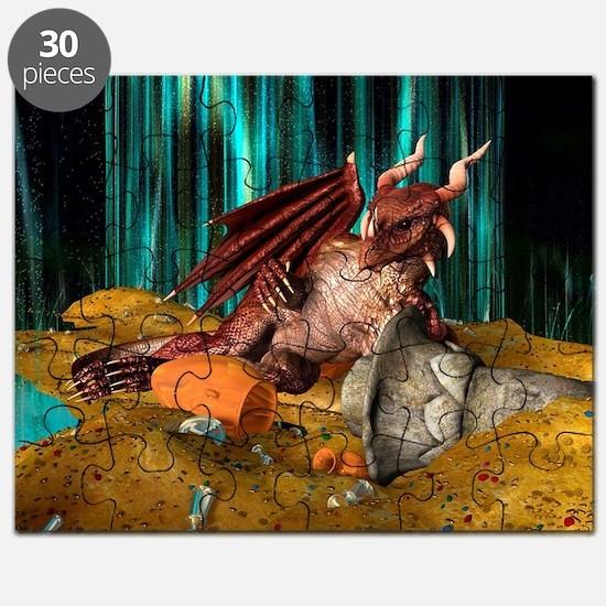 Dragon Treasure Puzzle