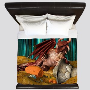 Dragon Treasure King Duvet