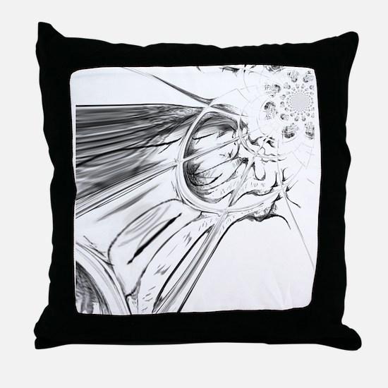 Funny Tate Throw Pillow