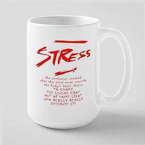 Stress Management technique Large Mug