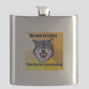 Courage wolf Flask