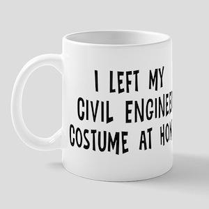 Left my Civil Engineer Mug