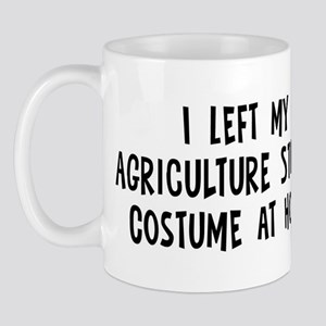Left my Agriculture Student Mug