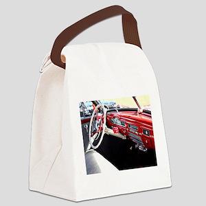 Classic car dashboard Canvas Lunch Bag