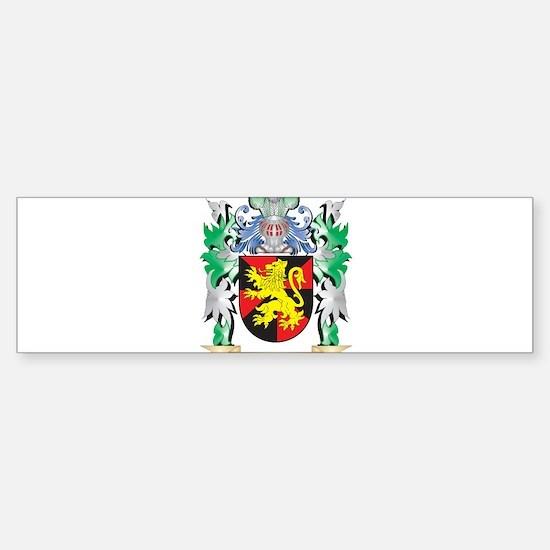 Mathias Coat of Arms - Family Crest Bumper Bumper Bumper Sticker