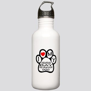 I Love My Chesapeake B Stainless Water Bottle 1.0L
