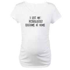 Left my Petrologist Shirt