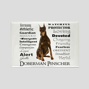 Doberman Traits Magnets