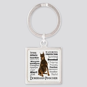 Doberman Traits Keychains