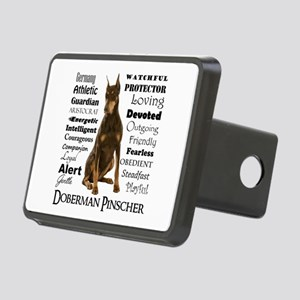 Doberman Traits Hitch Cover