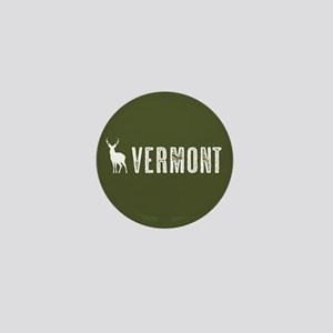 Deer: Vermont Mini Button