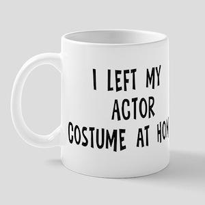 Left my Actor Mug