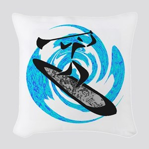 SUP Woven Throw Pillow