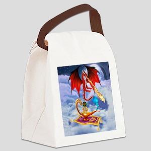 Dragon Genie Canvas Lunch Bag