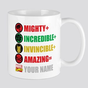 Mighty Incredible Invincible Amazing Pe Mug