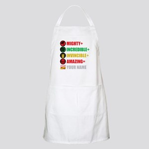 Mighty Incredible Invincible Amazing Persona Apron
