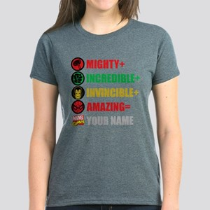 Mighty Incredible Invincible Women's Dark T-Shirt
