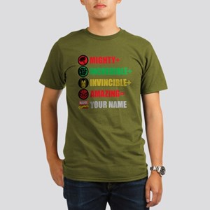 Mighty Incredible Inv Organic Men's T-Shirt (dark)