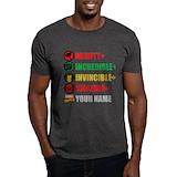 Marvel Mens Classic Dark T-Shirts