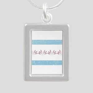 Chi-Town Axolotl (vintage look) Necklaces