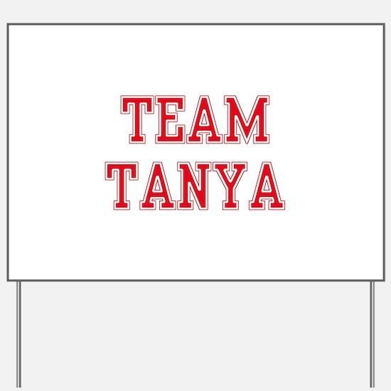 TEAM TANYA  Men and apos;s Sleeveless Tee Yard Sig