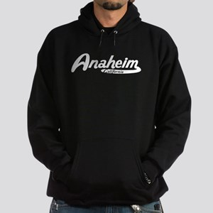 Anaheim California Vintage Logo Hoodie
