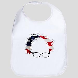 Bernie Flag Hair Bib