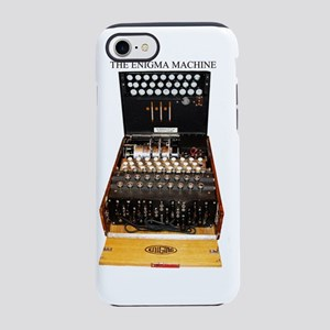 enigma machine, vintage iPhone 8/7 Tough Case