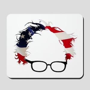 Bernie Flag Hair Mousepad