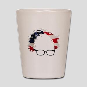 Bernie Flag Hair Shot Glass