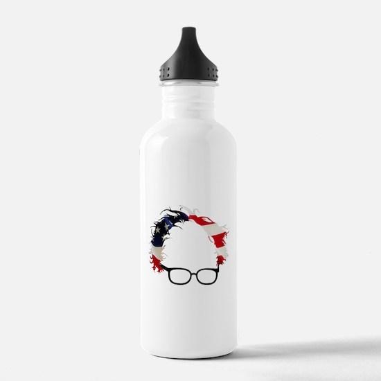Bernie Flag Hair Water Bottle
