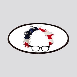 Bernie Flag Hair Patch