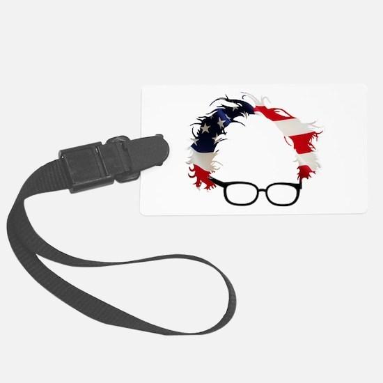 Bernie Flag Hair Luggage Tag