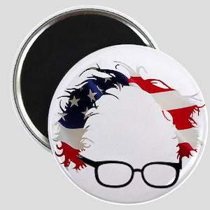 Bernie Flag Hair Magnets