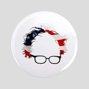 Bernie Flag Hair Button