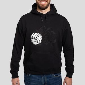 Flaming Volleyball Sweatshirt