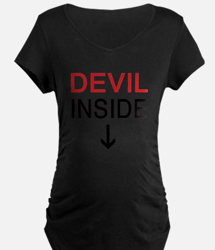 Devil Inside Maternity T-Shirt