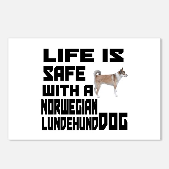Life Is Safe With A Norwe Postcards (Package of 8)