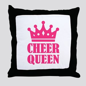 Cheer queen champion Throw Pillow