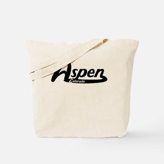 Aspen Colorado Vintage Logo Tote Bag