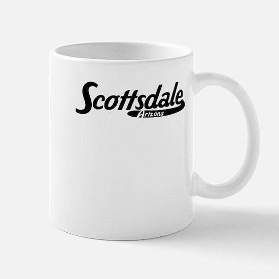 Scottsdale Arizona Vintage Logo Mugs